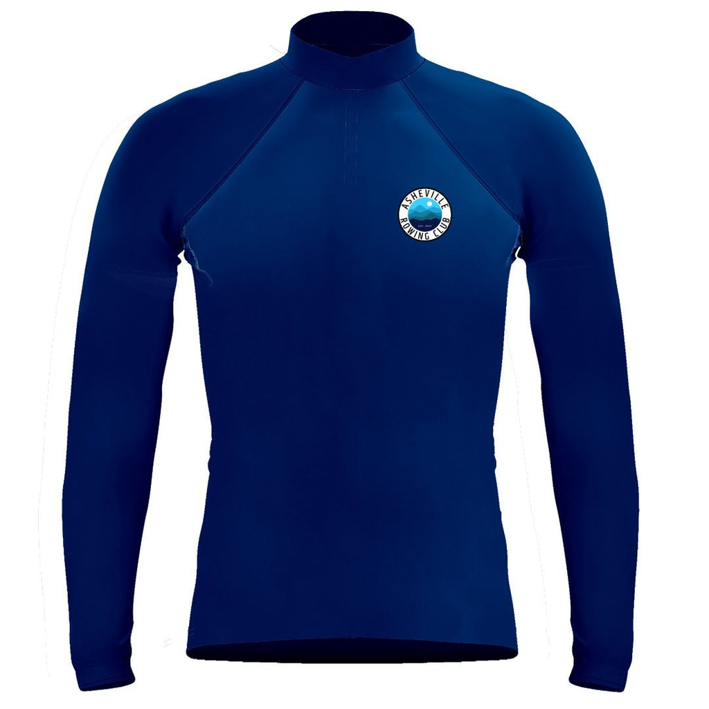 Long Sleeve Asheville Rowing Club Warm-Up Shirt