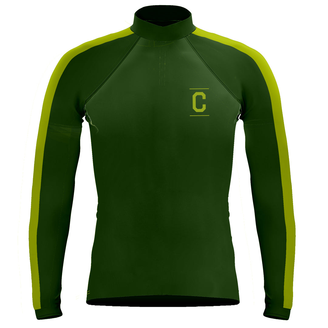 Long Sleeve Casitas Rowing Warm-Up Shirt Forest