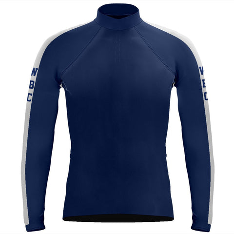 Long Sleeve Williamsburg Boat Club Warm-Up Shirt