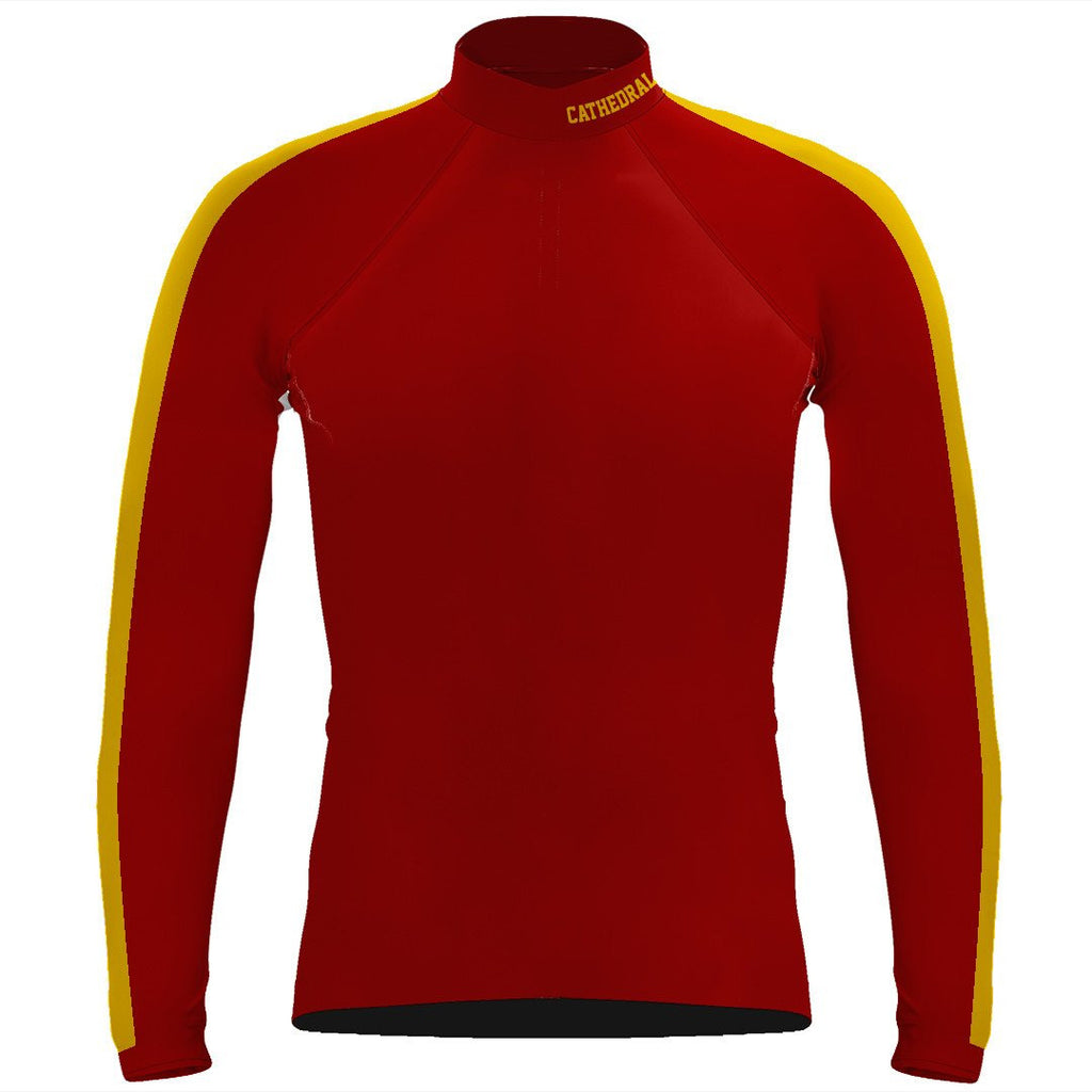 Long Sleeve Cathedral Catholic Crew Warm-Up Shirt