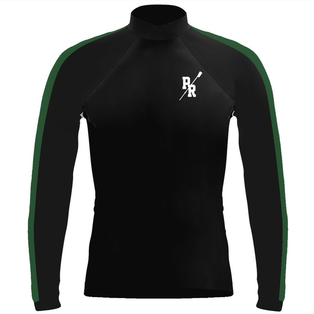 Long Sleeve Pine Richland Crew Warm-Up Shirt