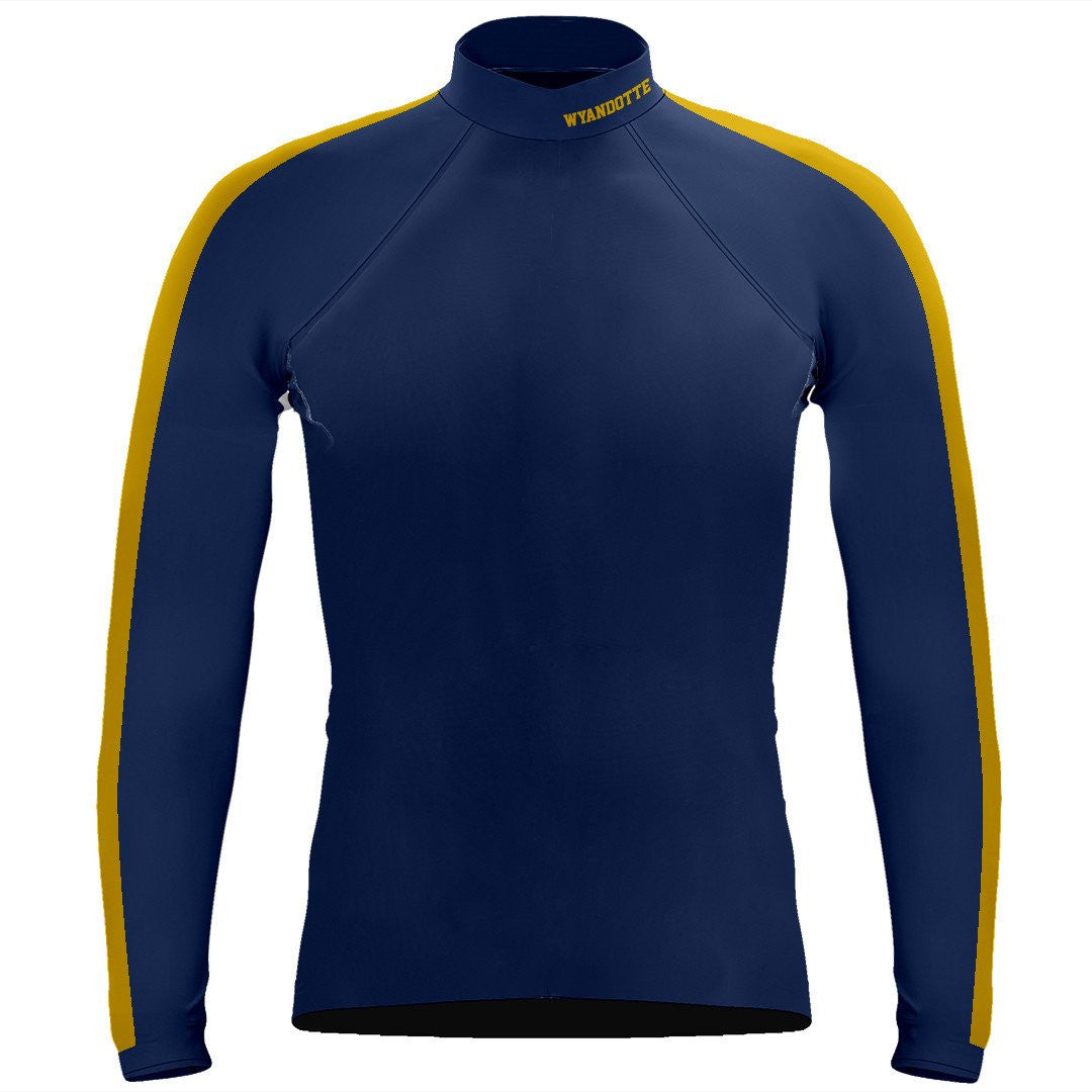 Long Sleeve Wyandotte Rowing Warm-Up Shirt