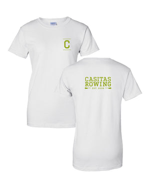 100% Cotton Casitas Rowing Women's Team Spirit T-Shirt