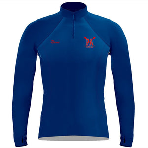 Princess Anne Crew Ladies Thumbhole Performance Pullover