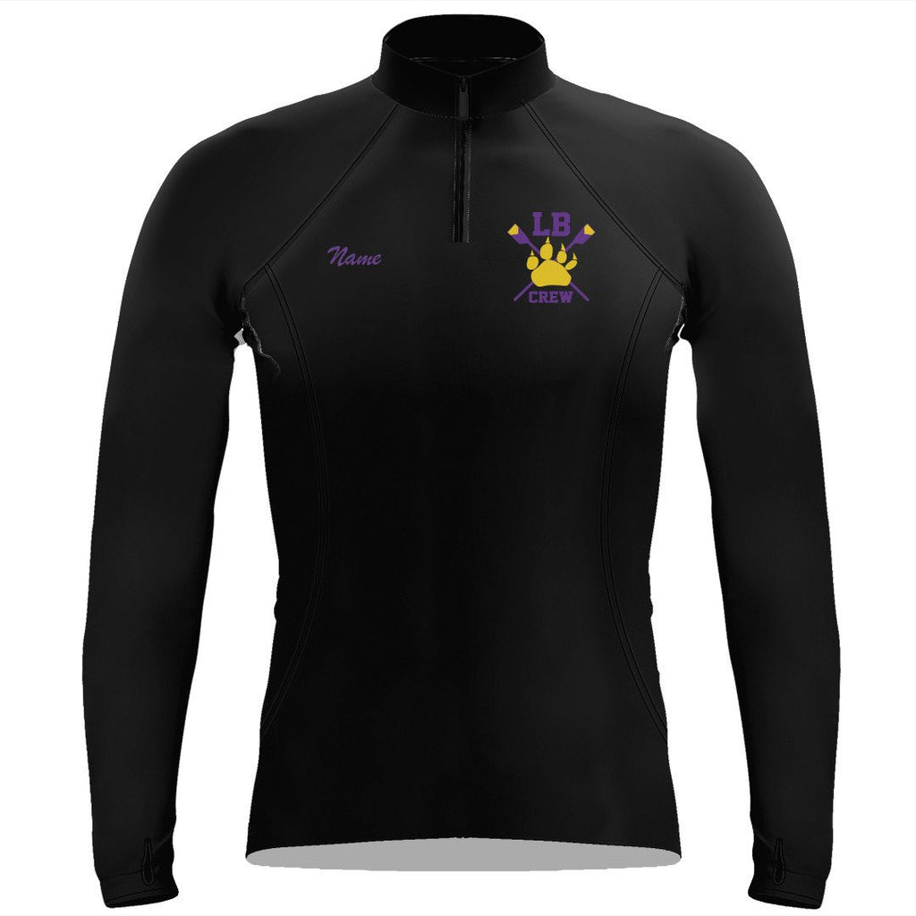 Lake Braddock Crew Ladies Performance Thumbhole Pullover