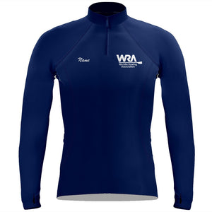 Wichita Rowing Association Ladies Performance Thumbhole Pullover
