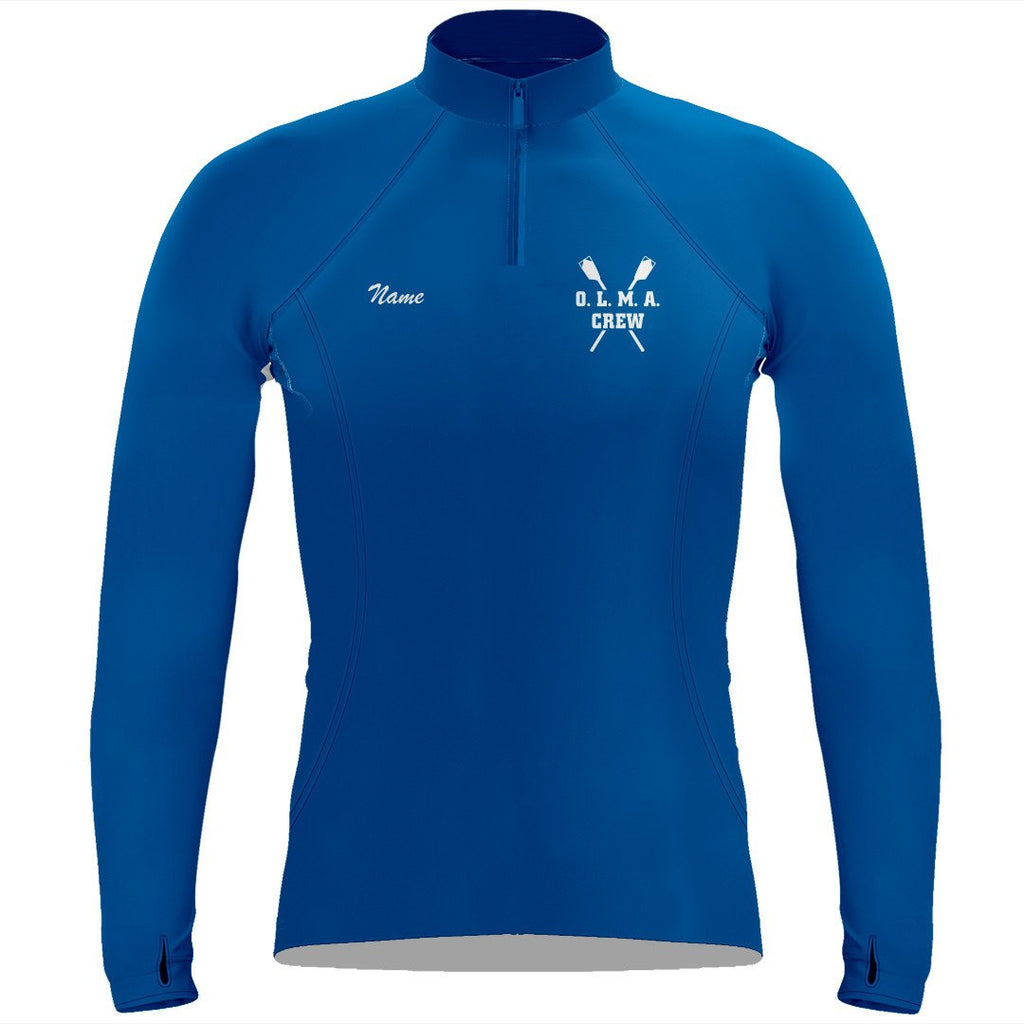 OLMA Rowing Gear Ladies Performance Thumbhole Pullover