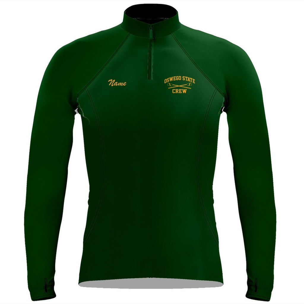 Oswego State Crew Ladies Thumbhole Performanee Pullover