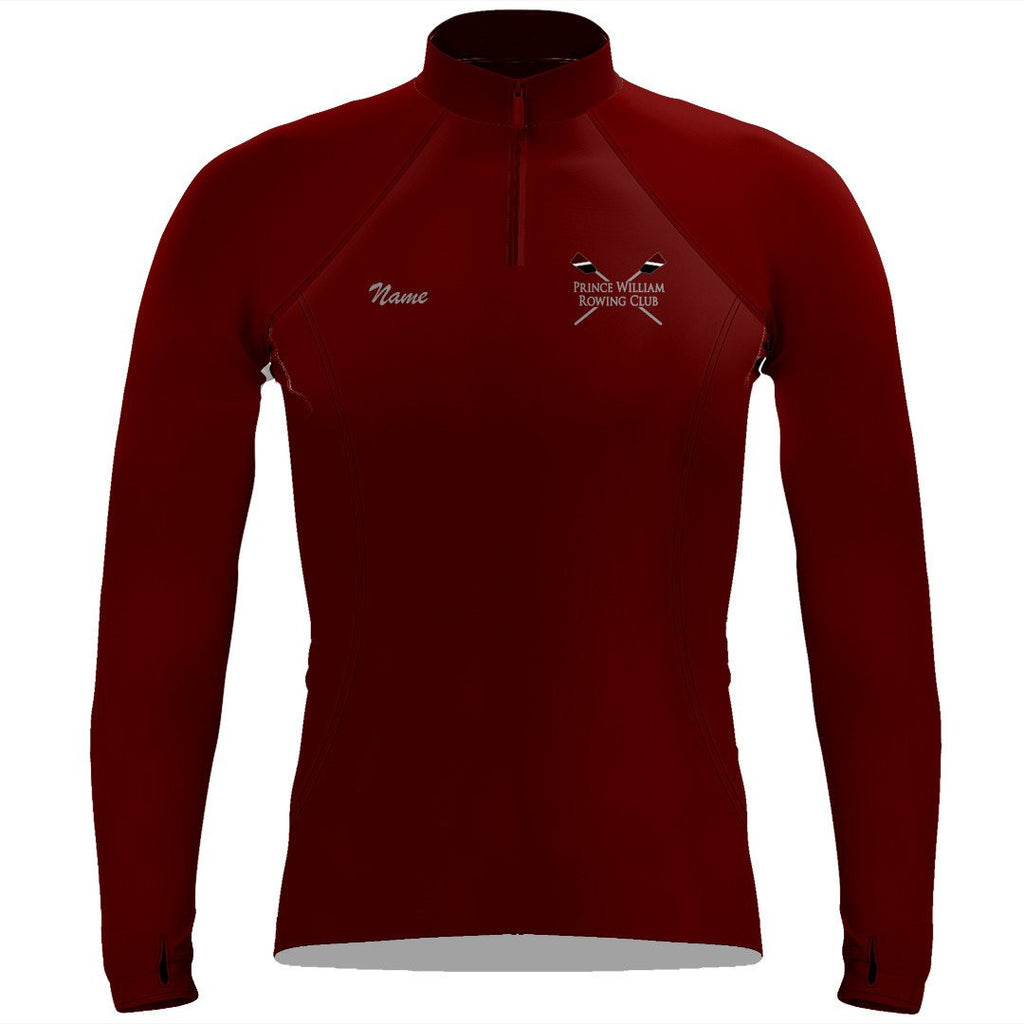 Prince William Rowing Club Ladies Performance Thumbhole Pullover