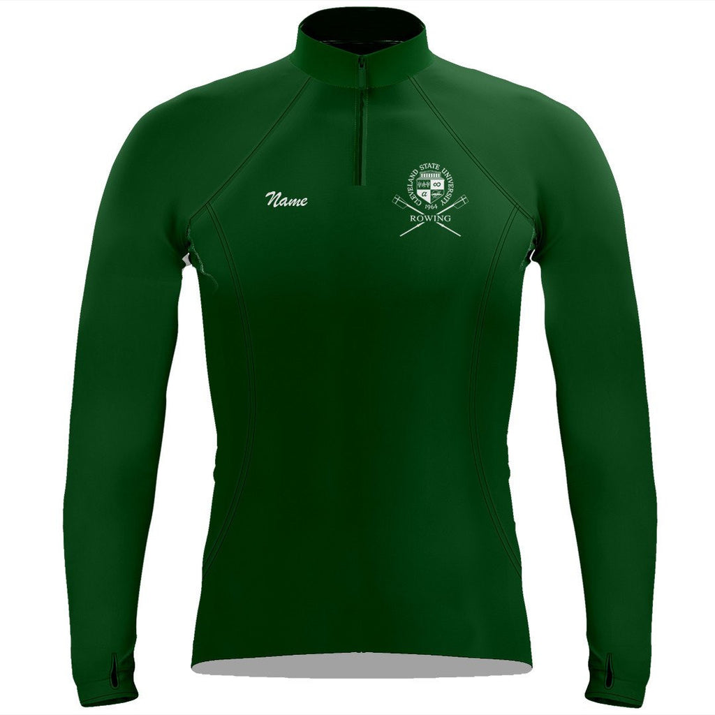 Cleveland State University Rowing Ladies Performance Thumbhole Pullover
