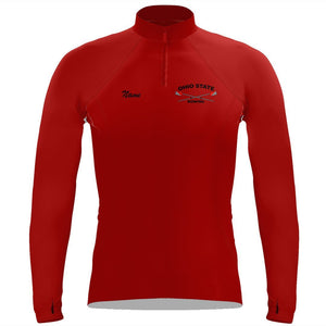 Ohio State Rowing Ladies Performance Thumbhole Pullover
