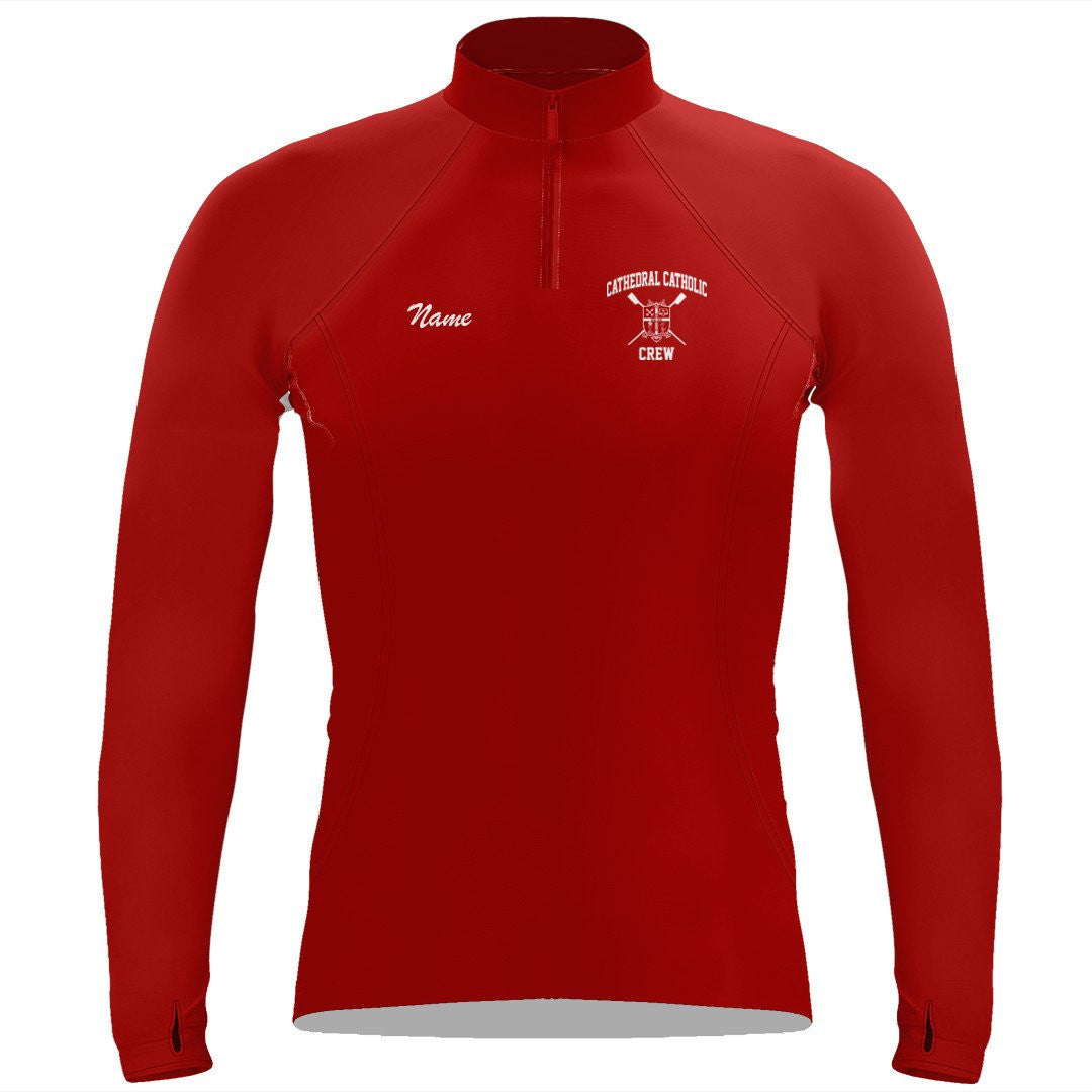 Cathedral Catholic Crew Ladies Performance Thumbhole Pullover