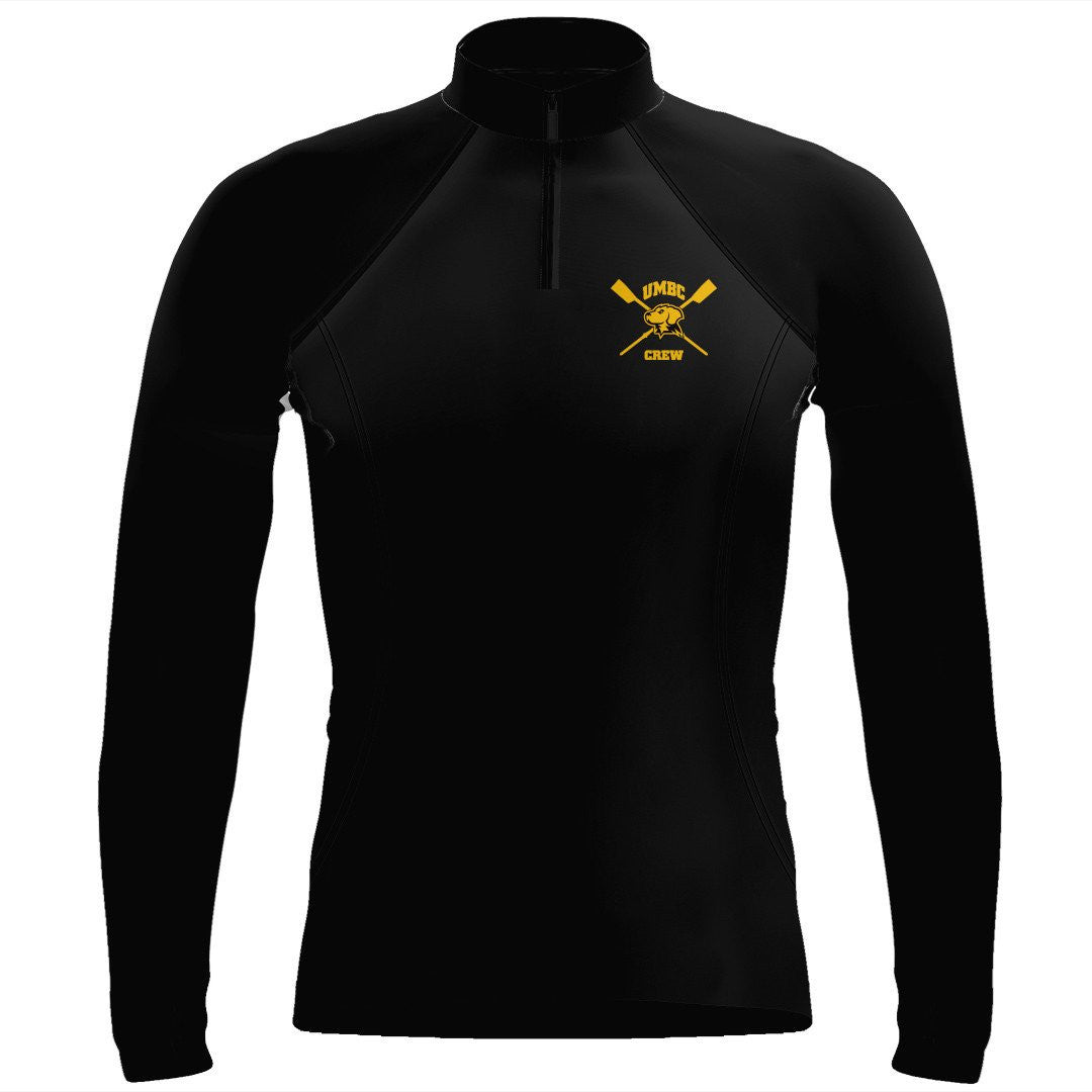UMBC Crew Ladies Thumbhole Performance Pullover