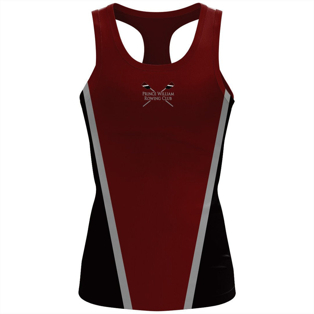 Prince William Rowing Club Women's Spandex T-back Tank Option 2