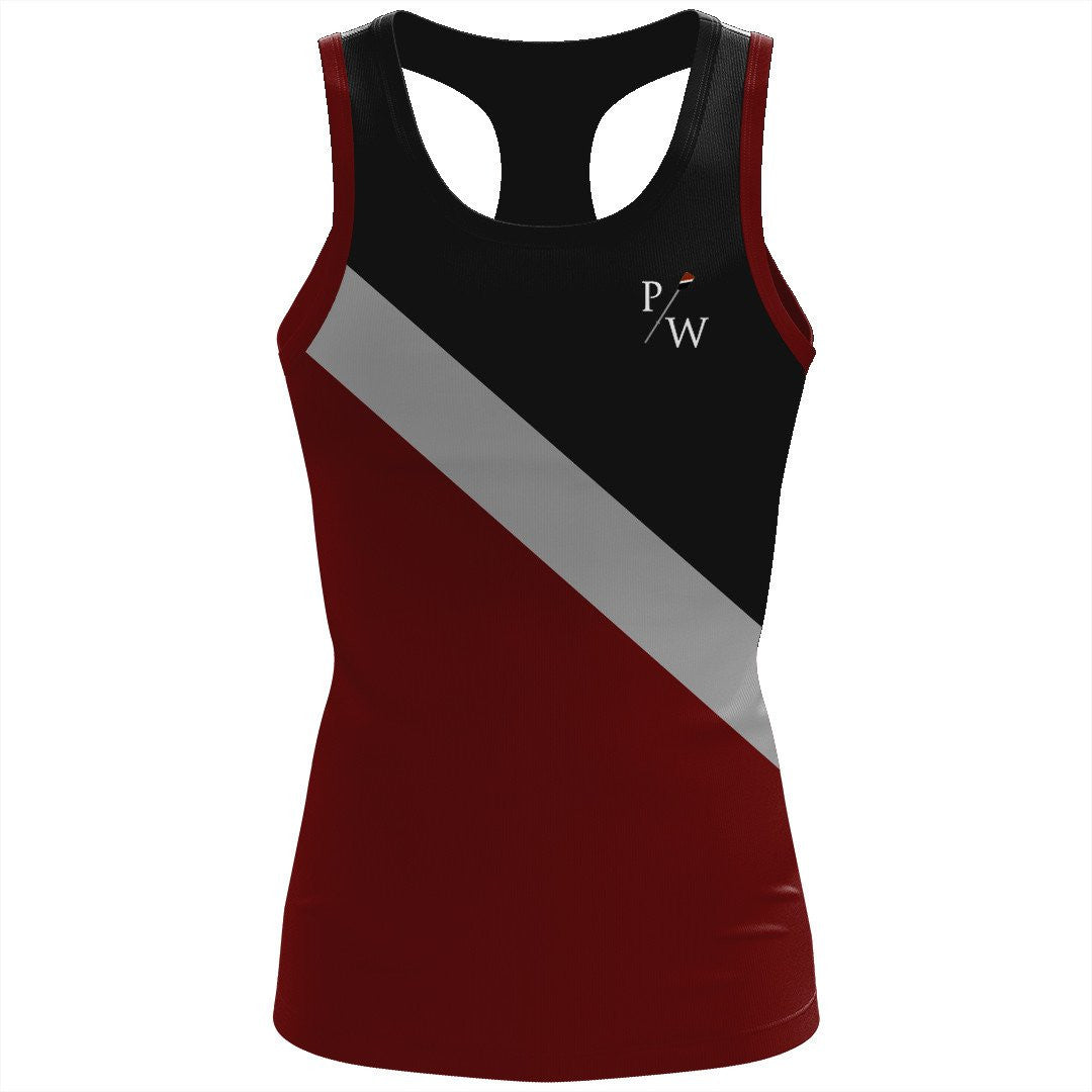 Prince William Rowing Club Women's Spandex T-back Tank