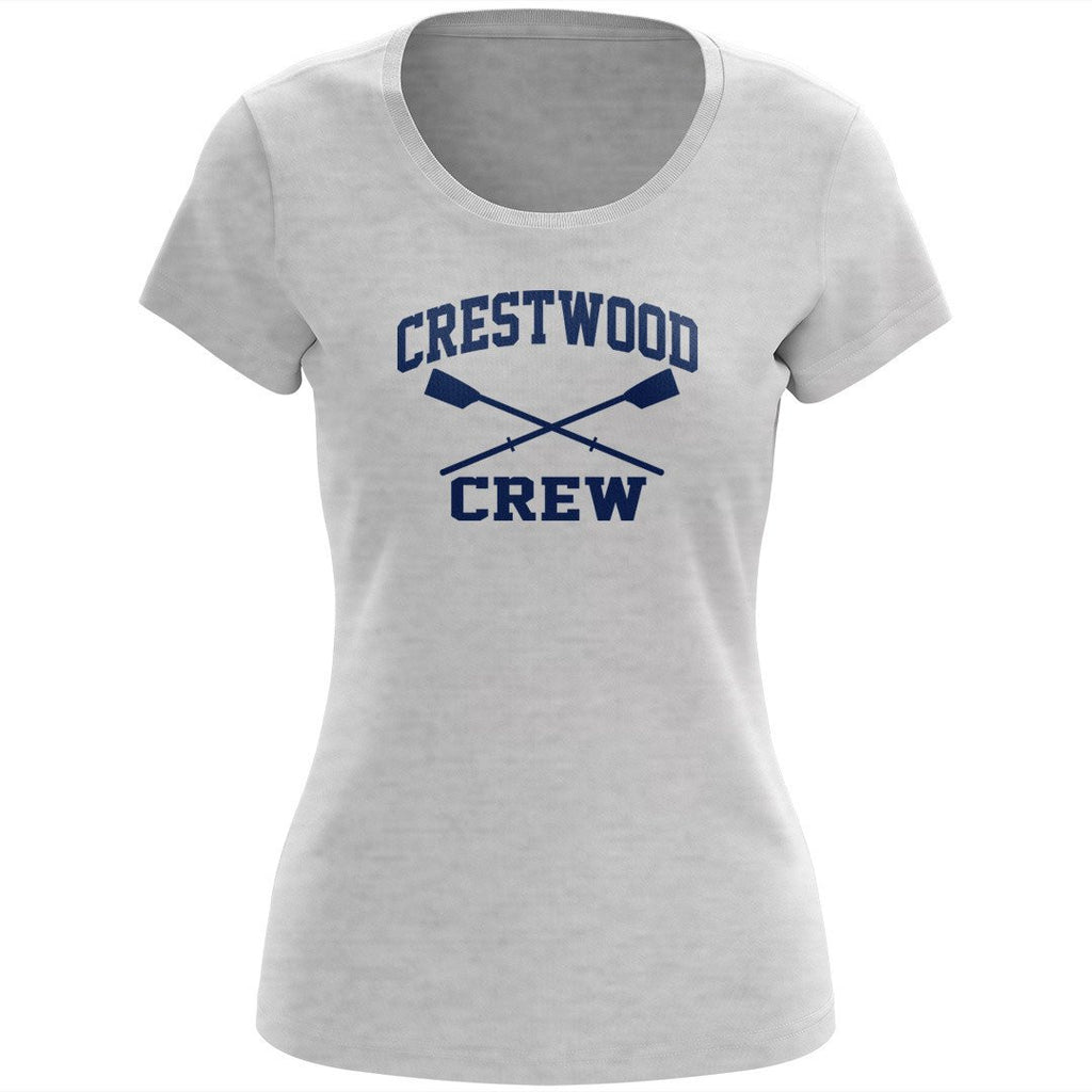 100% Cotton Crestwood Crew Women's Team Spirit T-Shirt