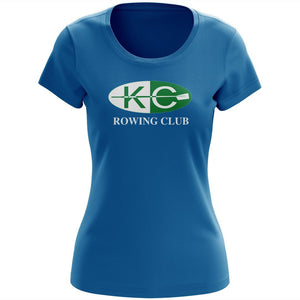 100% Cotton Kansas City Rowing Club Women's Team Spirit T-Shirt