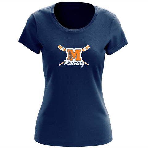 100% Cotton Maury Crew Women's Team Spirit T-Shirt