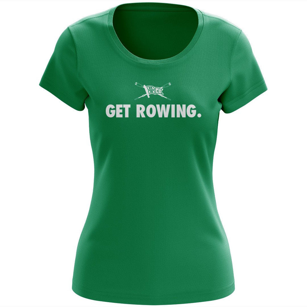 100% Cotton Minneapolis Rowing Club Women's Team Spirit T-Shirt