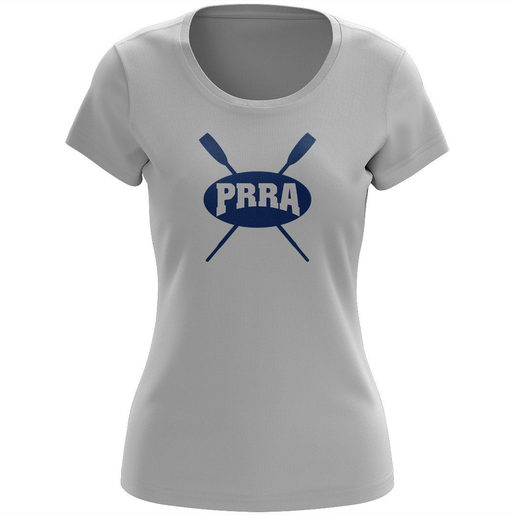 100% Cotton Passaic River Rowing Association Women's Team Spirit T-Shirt