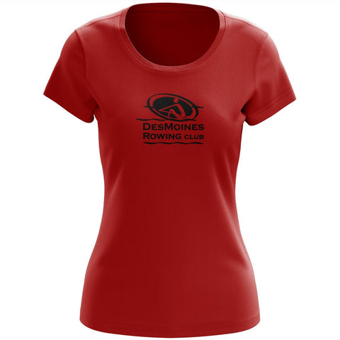 100% Cotton Des Moines Rowing Club  Women's Team Spirit T-Shirt