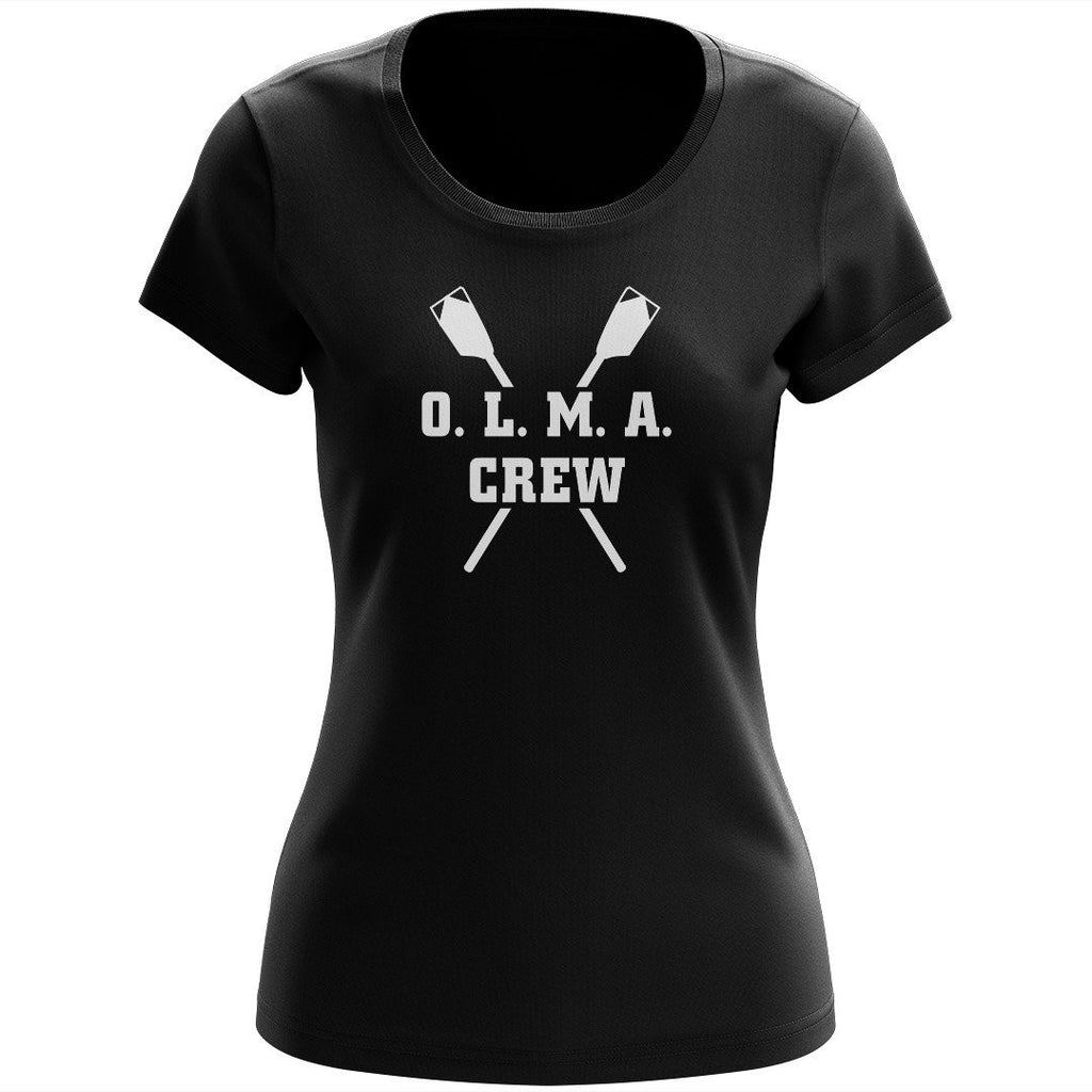 100% Cotton OLMA Rowing Gear Women's Team Spirit T-Shirt