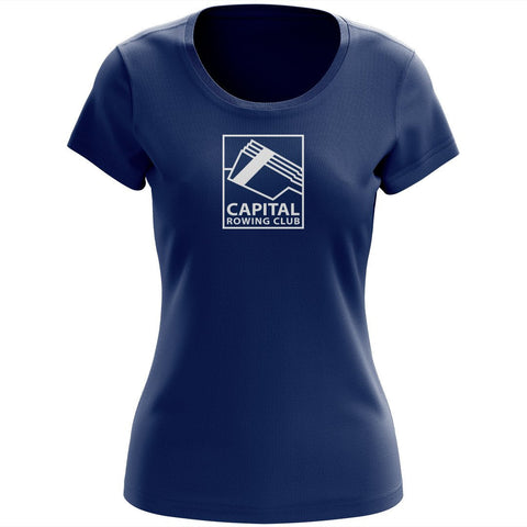 100% Cotton Capital Rowing Club Women's Team Spirit T-Shirt
