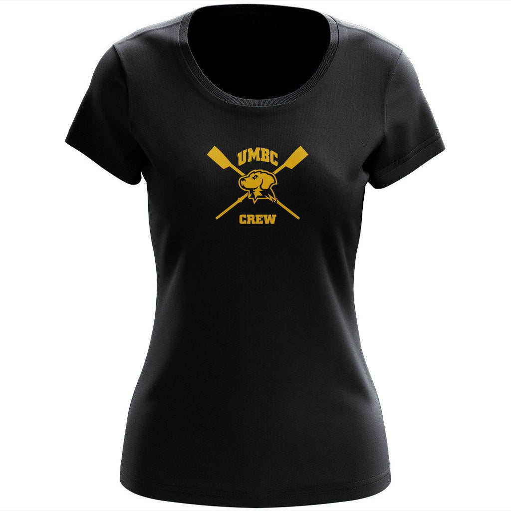 100% Cotton UMBC Crew Women's Team Spirit T-Shirt