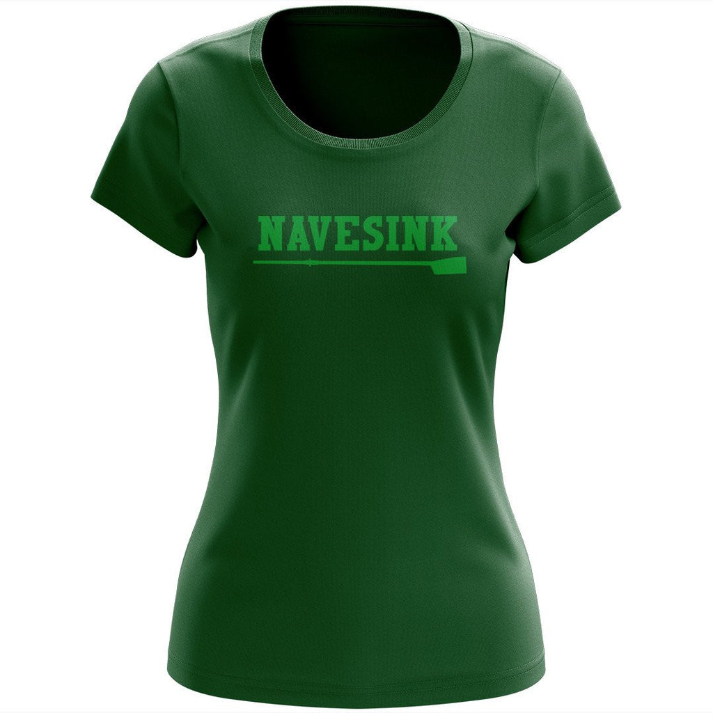 100% Cotton Navesink River Rowing Women's Team Spirit T-Shirt