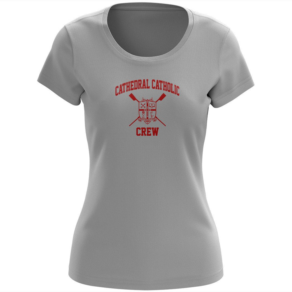 100% Cotton Cathedral Catholic Crew Women's Team Spirit T-Shirt