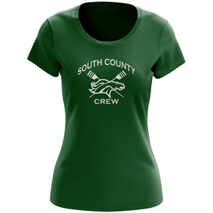 100% Cotton South County Crew Women's Team Spirit T-Shirt