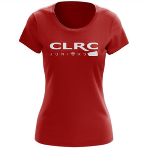 100% Cotton Crystal Lake RC Juniors Women's Team Spirit T-Shirt