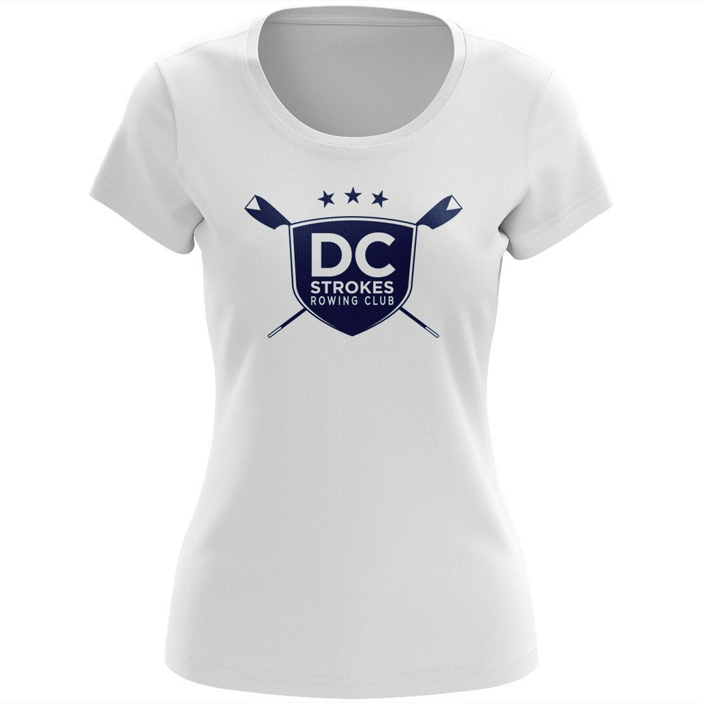 100% Cotton DC Strokes Rowing Club Women's Team Spirit T-Shirt