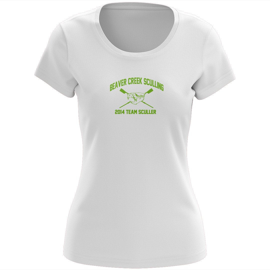 100% Cotton Beaver Creek Sculling Women's Team Spirit T-Shirt