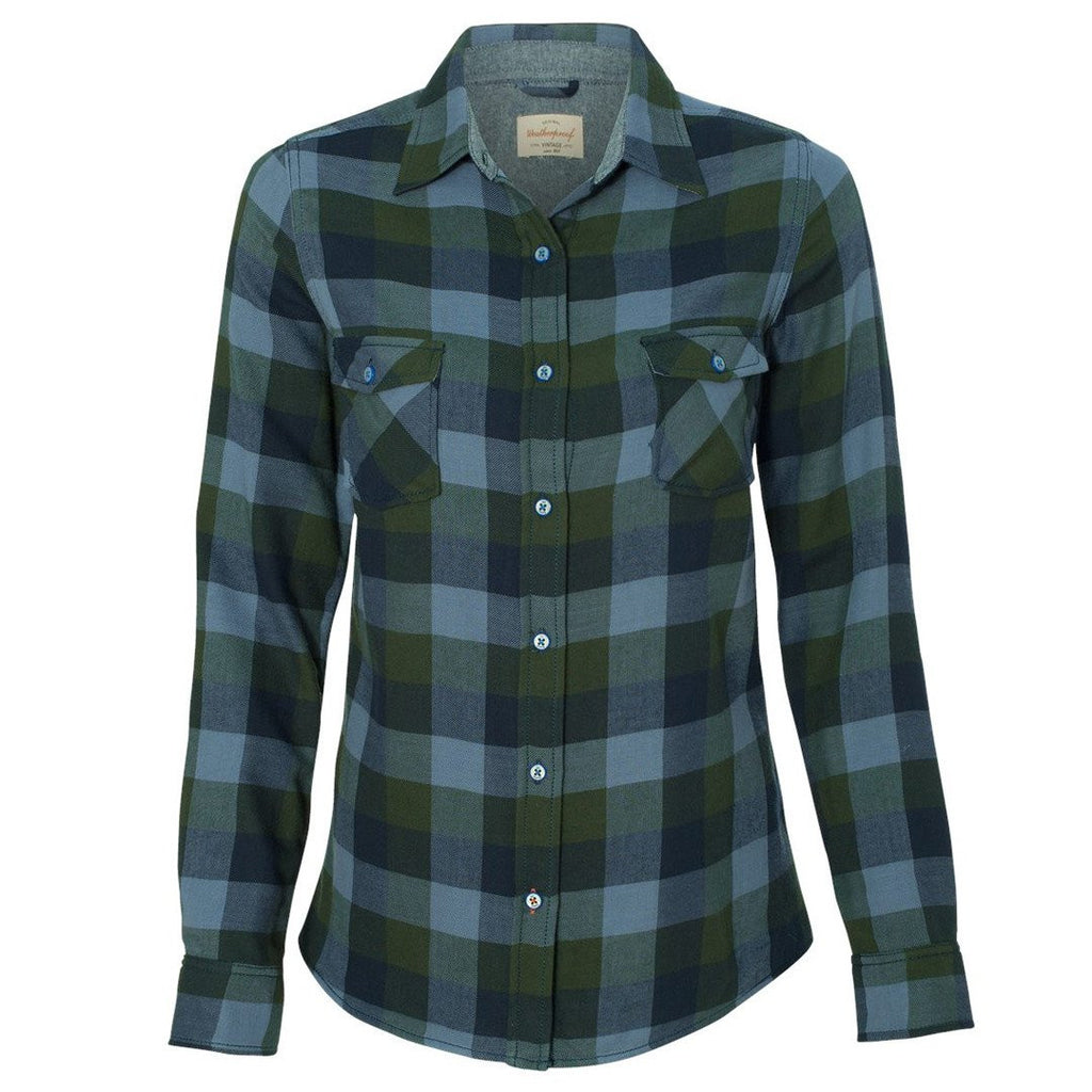 Chinook Vintage Women's Brushed Flannel Long Sleeve Shirt