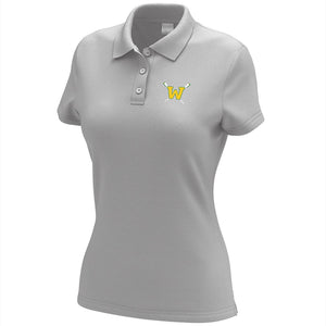 Woodbridge Crew Embroidered Performance Ladies Polo