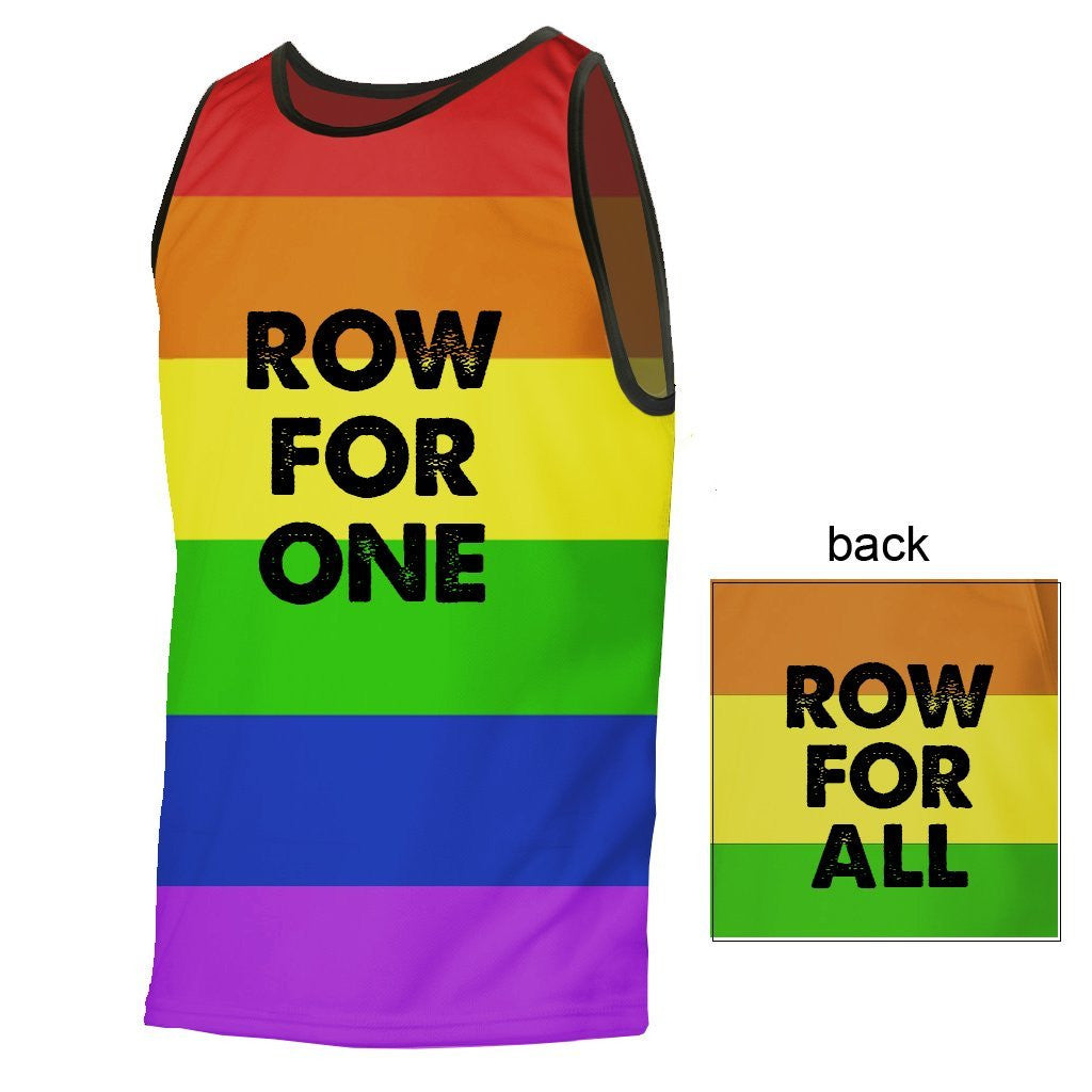 Row For One, Row For All Relaxed Fit Technical Tank