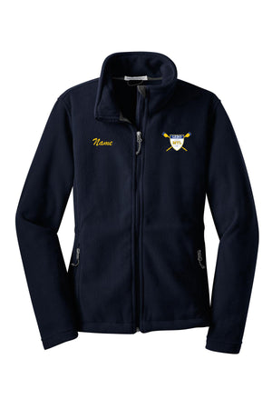 Full Zip MT Lebanon Rowing Fleece Pullover