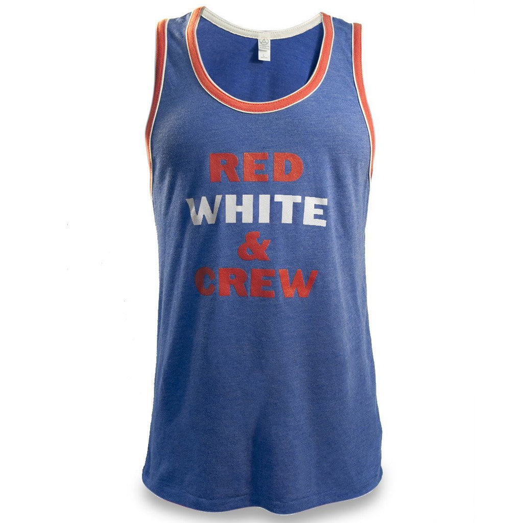 Red White & Crew Men's Tank