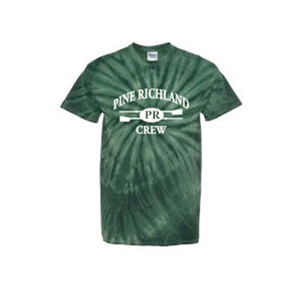 100% Cotton Pine Richland Crew Tye Dye T-Shirt