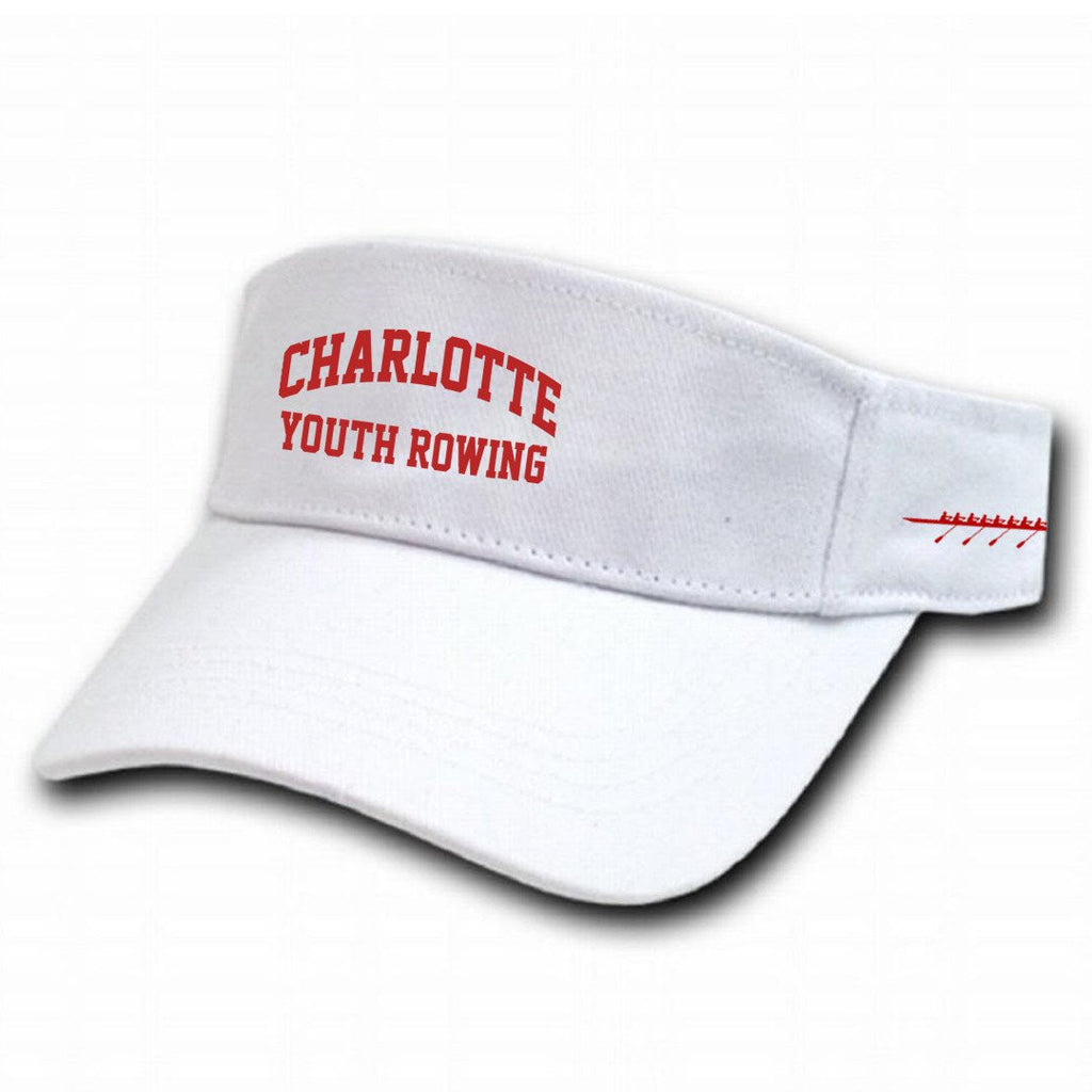 Official Charlotte Youth Rowing Club Cotton Twill Visor