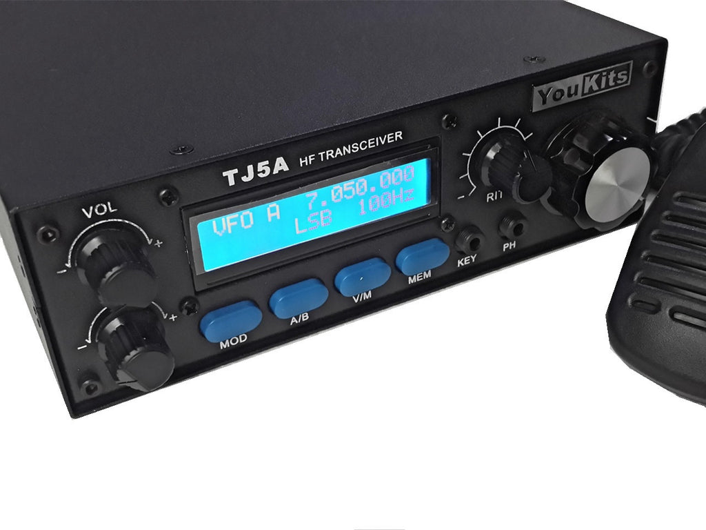 Youkits TJ5A HF 20W SSB CW Transceiver 4 Band version - Youkits