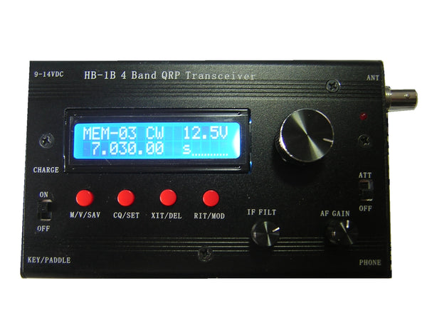 Youkits HB-1B 2018 4 band QRP CW transceiver  fully assembled and tested - Youkits