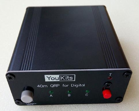Youkits DIGITAL 40 QRP transceiver - Youkits