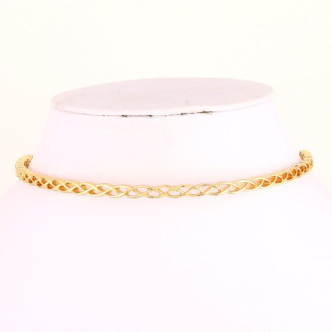 Gold Choker - Believe in Chic