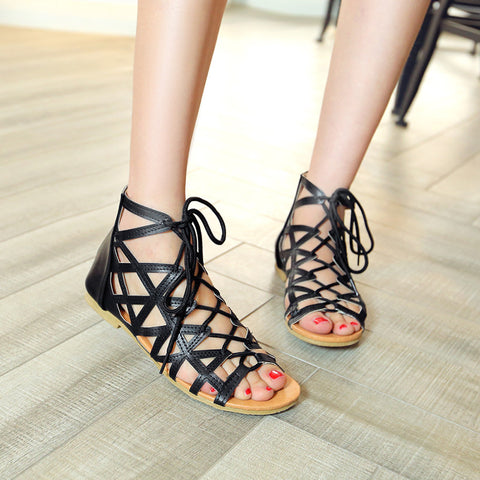 Women's Gladiator Sandals Summer Shoes Woman