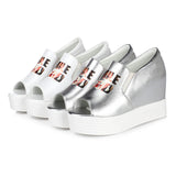 Women Sandals Loafer Wedges Platform Shoes
