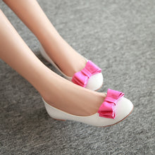 Load image into Gallery viewer, Women Flat Shoes with Bow 5877