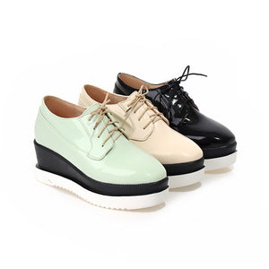 Lace Up Platform High Heels Fashion Women Shoes 6879
