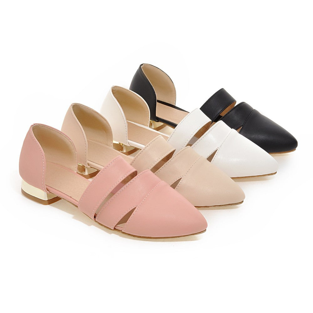 Summer Flats Sandals Casual Shoes Woman Plus Size